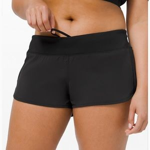 lululemon speed up 2.5 shorts black